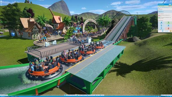 Planet Coaster rapids