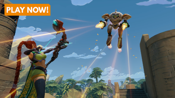 Play Paladins for free