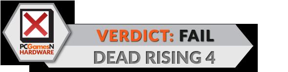 Dead Rising 4 port review verdict