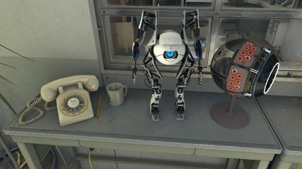 The Aperture Science Portal VR demo is not exclusive to Vive