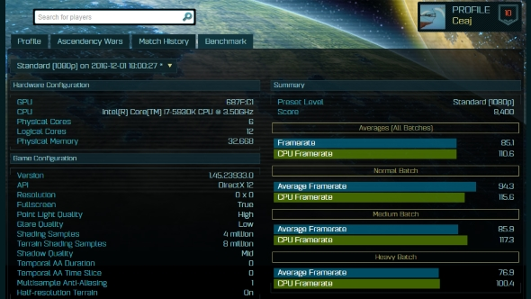 Possible RX 490 Ashes of the Singularity benchmark