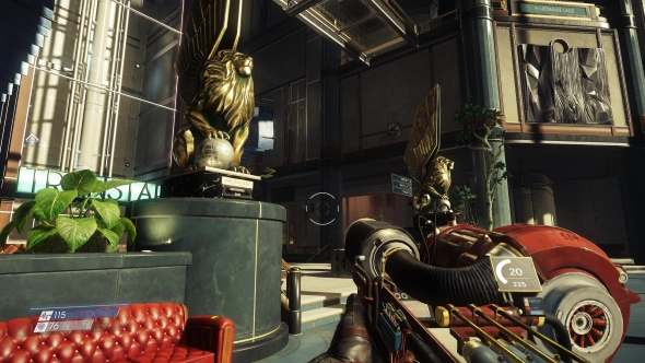 Prey PC graphics medium