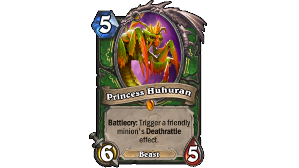 Best Hearthstone Legendary cards Princess Huhuran