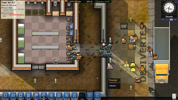 Prison Architect alpha update is all about doors emergencies graphics options | PCGamesN & Prison Architect alpha update is all about doors emergencies ...