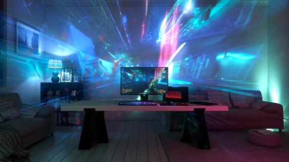 Razer Project Ariana projection system