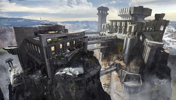 Project BlueStreak fortress concept art