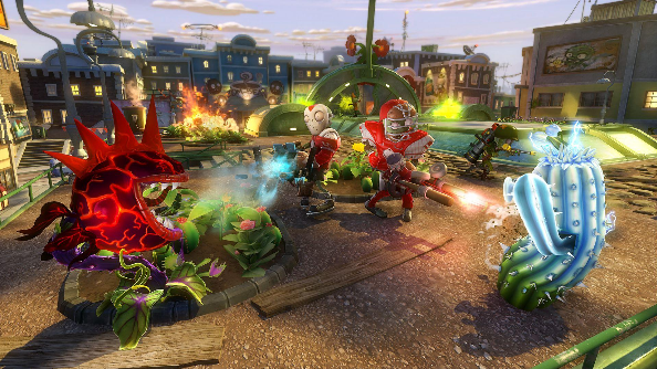 Plants vs Zombies: Garden Warfare grabs capture point A in new mode