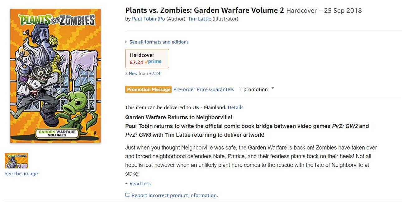 Plants vs Zombies Garden Warfare 3