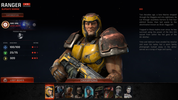 Quake Champions abilities