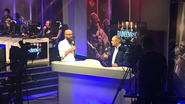 eSports Rainbow Six Siege Pro League presenter