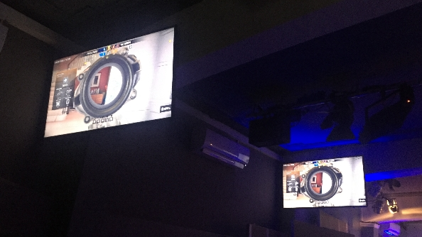 eSports Rainbow Six Siege Pro League screens