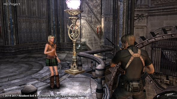 Resident Evil 4 HD mod project brings its texture magic to Salazar's