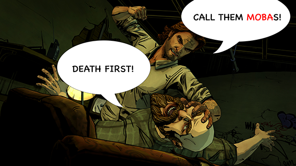 The Wolf Among Us Fight