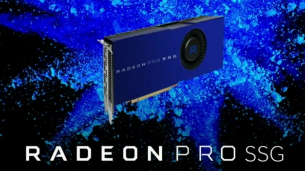 AMD have grafted an SSD to their Fiji GPU creating the potential for terabytes of VRAM