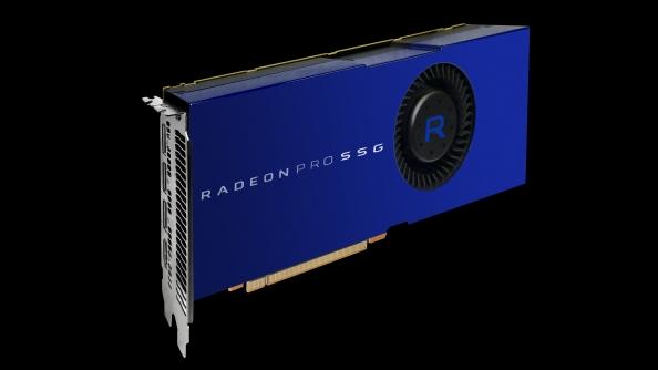 AMD Radeon Pro SSG unveiled