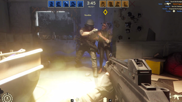Rainbow Six Siege multiplayer footage blows out the walls and floors