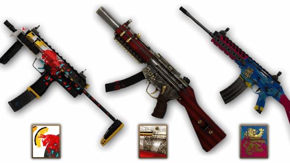 Rainbow Six Siege Year 2 weapon skins
