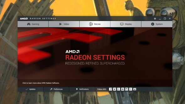 AMD Radeon Crimson ReLive capture