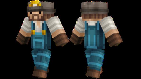 best minecraft skins Realistic Miner
