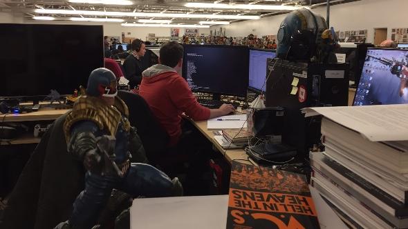 Rebellion Developments studio floor