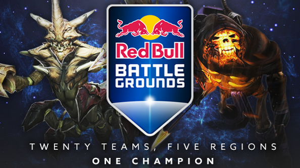 Watch the Red Bull Battle Grounds Dota 2 playoffs live