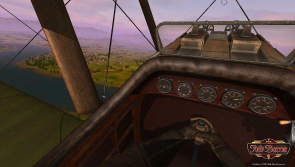 Red Baron kickstarter cockpit