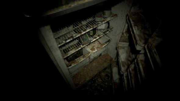 Resident Evil 7 PC port review fridge close-up low