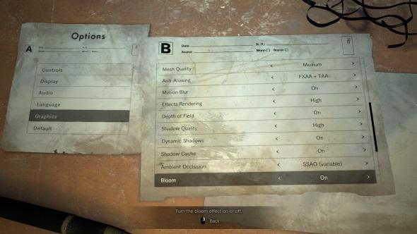 Resident Evil 7 PC port review graphics settings menu