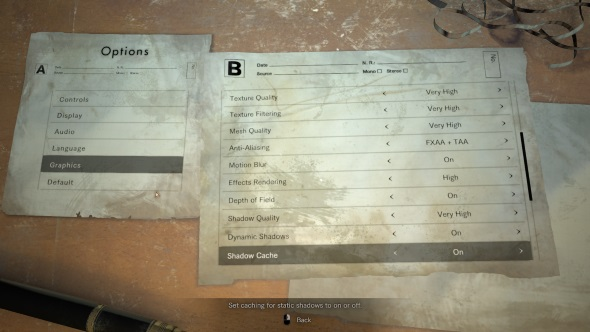 Resident Evil 7 PC port review graphical settings Nvidia cards