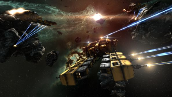 Watch CCP's EVE Vegas event unfold on Twitch right now; find out what's in store for EVE Online