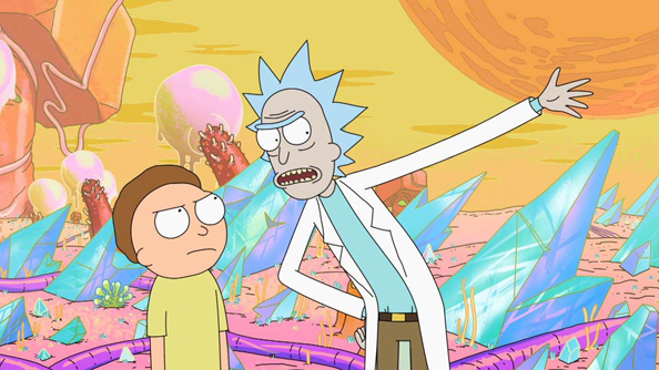 The Rick and Morty announcer pack for Dota 2 is available now