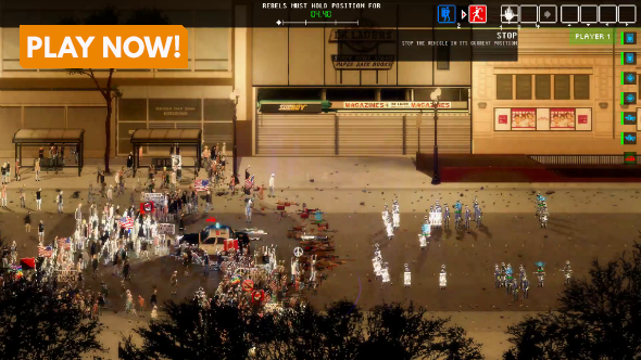 Riot Civil Unrest gameplay