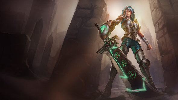 Strongest lol champs 6.18 Riven