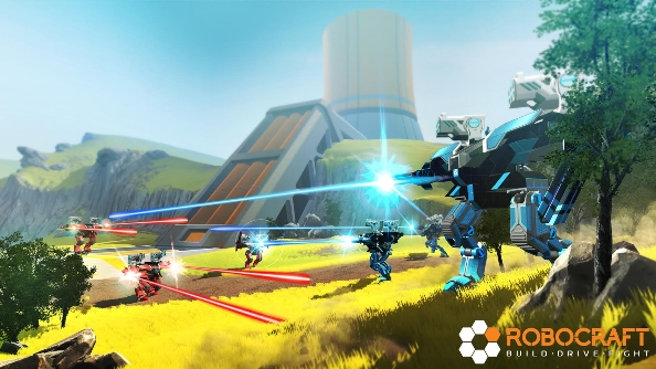Robocraft's free new update takes Team Deathmatch to ...
