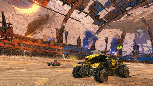 Rocket League Wasteland