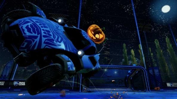 Rocket League Halloween update