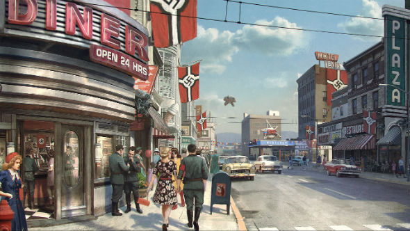 Wolfenstein II: The New Colossus Roswell street
