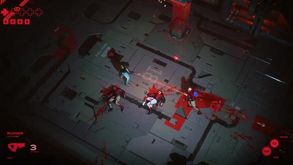 Ruiner gameplay