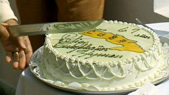 The cake cutting scene from The Godfather 2