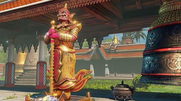 Street Fighter V Thailand Stage