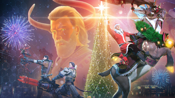 Skyforge's Winter Celebration DLC gets festive with reindeer... and bearded monsters