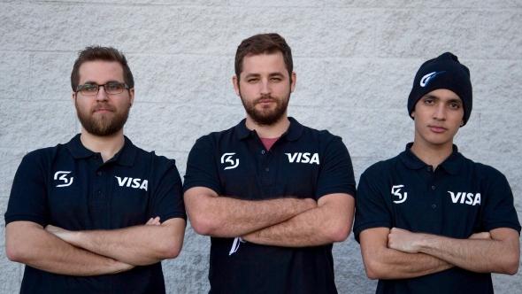 SK Gaming, sponsored by Visa