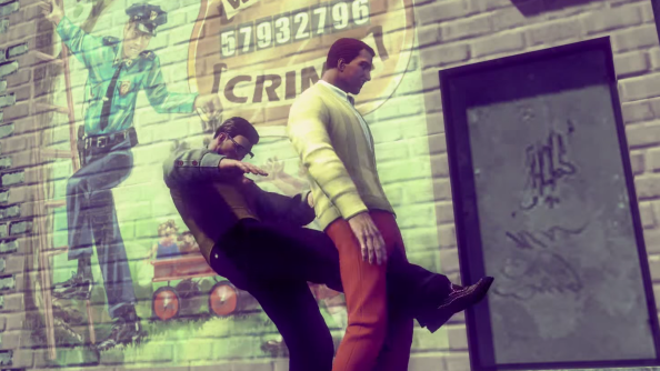 "Saints Row IV: Gat out of Hell launch trailer has plenty of ""dick kicking"" to help you smite Satan"