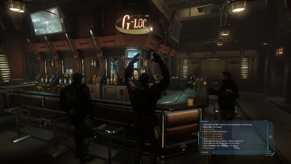 Star Citizen alpha v1.2 adds its social module