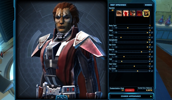 Cartel to offer facial reconstruction plan in next The Old Republic update