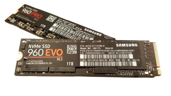 Samsung 960 Evo 1TB performance