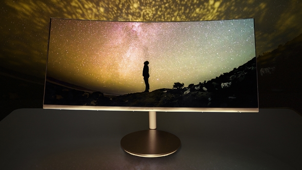 Samsung's new monitor offers the curviest curves while LG create the widest ultrawide