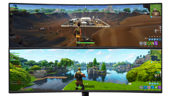 Samsung C49J89 review: the ultimate Fortnite gaming monitor