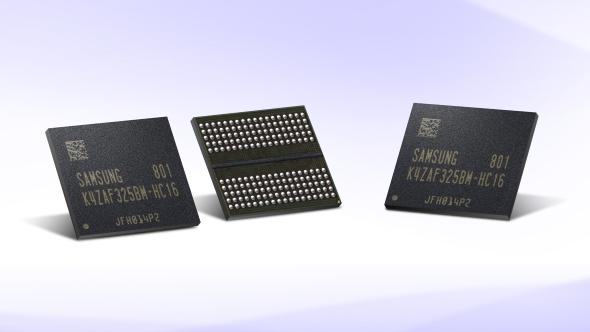 Samsung GDDR6 graphics memory