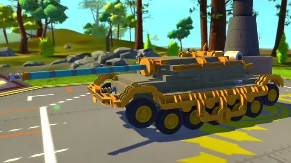 Scrap Mechanic creations Battle Tank